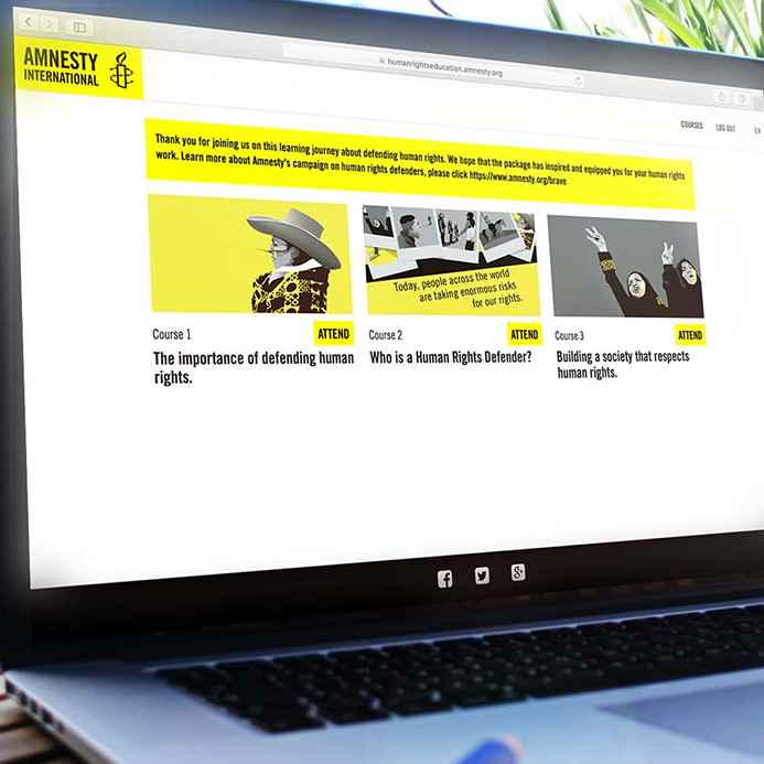 AMNESTY EDUCATION PLATFORM