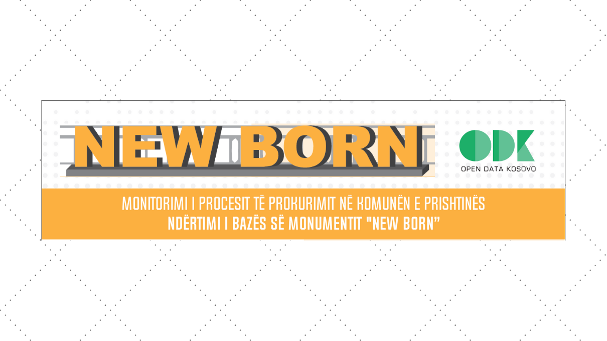 """Monitoring of Public Procurement """"Constructing the Base of the Newborn Monument"""" Contract"""